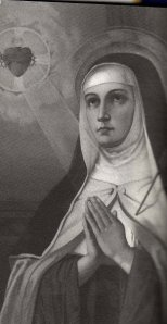 """Saint Teresa of Avila found completeness """"when each breath began to silently say the name of Lord""""."""