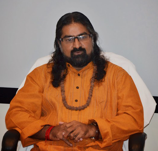 Mohanji. First talk in America 1