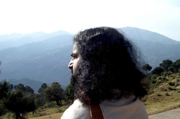 Mohanji looking at the horizon in Jammu
