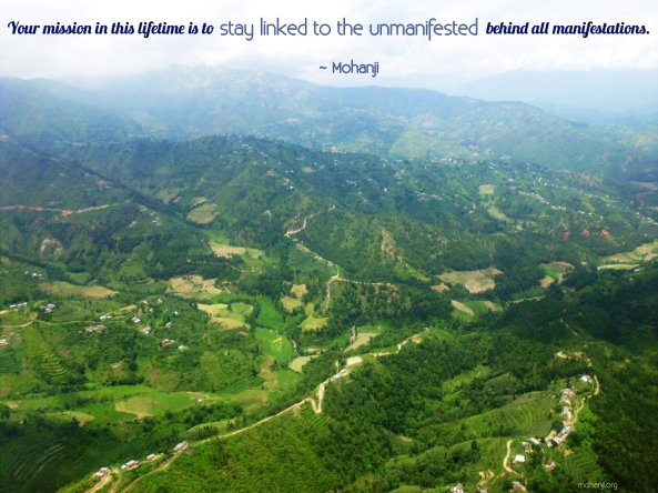 Mohanji quote - Your mission in this lifetime