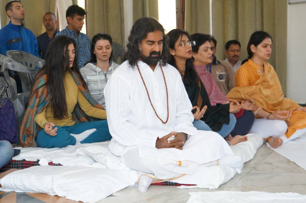 During Power of Purity Meditation – Thus Spake Mohanji