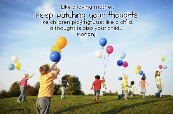 Mohanji quote - Like a loving mother