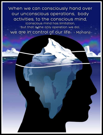 Mohanji quote - When we can consciously