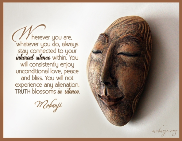 Mohanji quote - Wherever you are, whatever you do