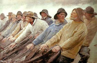 Painting by Michael Ancher
