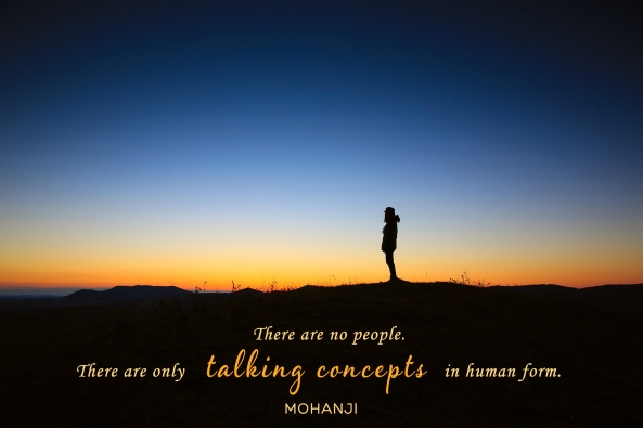 Mohanji quote - There are no people