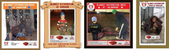 Ammucare blanket distribution