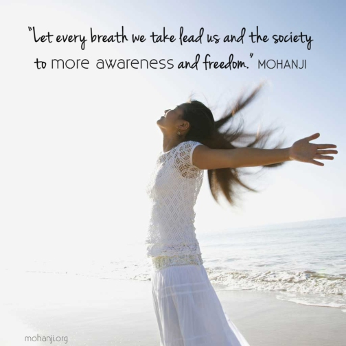 Mohanji quote - Let every breath we take