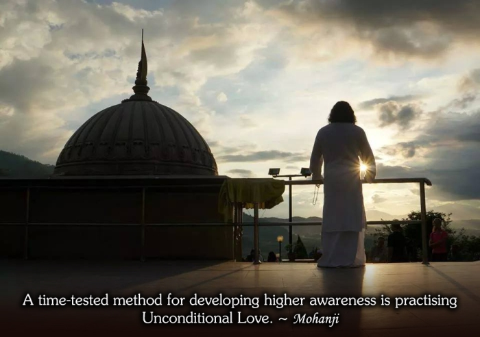 Mohanji quote Practising higher awareness