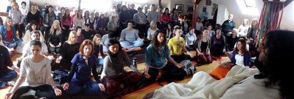 Satsang with Mohanji in Novi Sad, Serbia, 1st March 2015