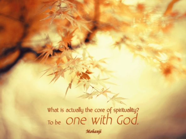 Mohanji quote - What is actually the core of spirituality 1