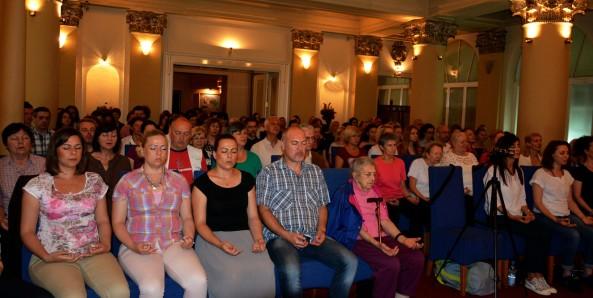 Meditation group in Belgrade, Serbia - Satsang with Mohanji