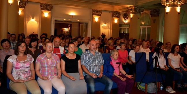 Meditation group in Belgrade, Serbia - Satsang with Mohanji