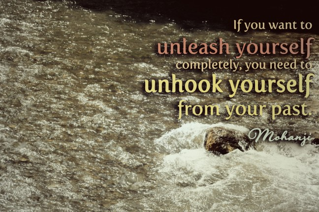 Mohanji quote - If you want to unleash yourself completely