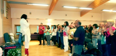 Mohanji opening the retreat in Serbia 2014