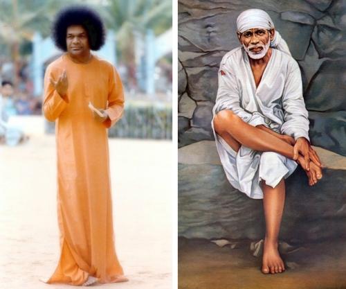 Sathya Sai and Shirdi Sai