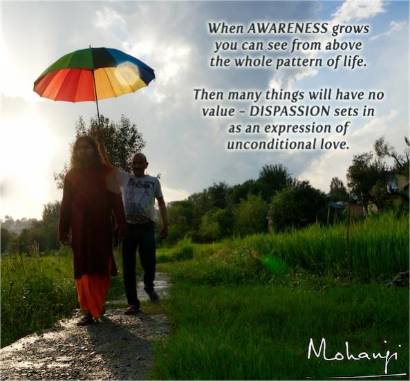 Mohanji quote - When awareness grows
