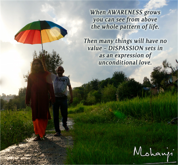 Mohanji quote - When awareness grows