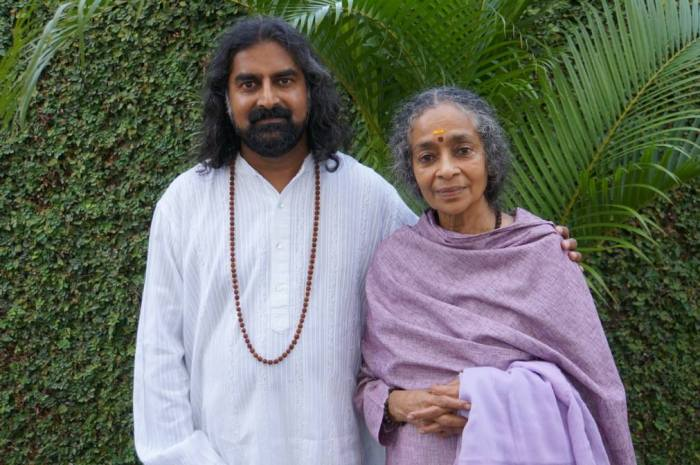 Vanamali Mata a guest speaker at the Rishikesh retreat with Mohanji (5)