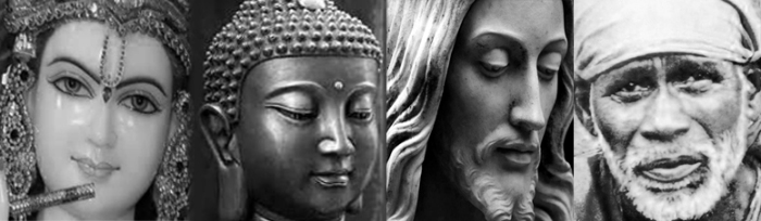 krishna buddha jesus baba Mohanji quote - Let brightness of wisdom