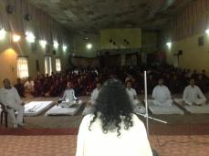 Mohanji giving the Power of Purity meditation to relieve stress in the soldiers in Uttarakhand