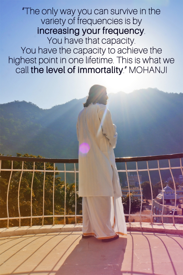 Mohanji quote - The only way