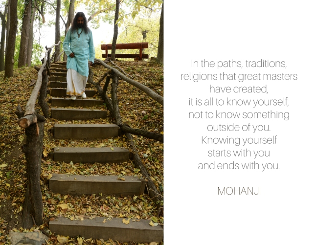 Mohanji quote - In the paths
