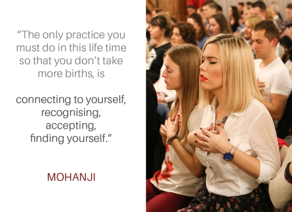 Mohanji quote - The only practice
