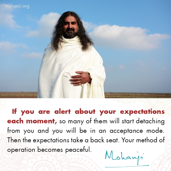Mohanji quote - Expectations
