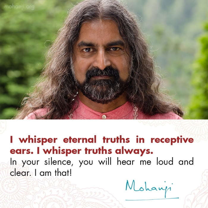 Mohanji quote - I am that