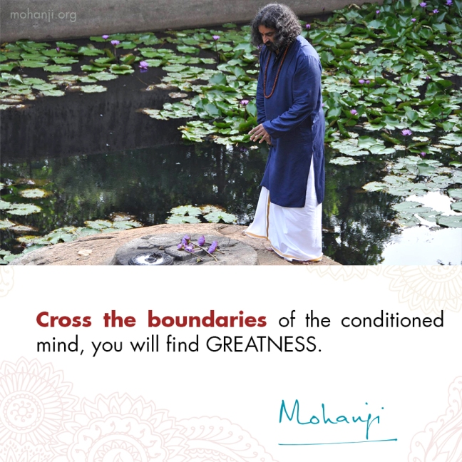 Mohanji quote - Mind