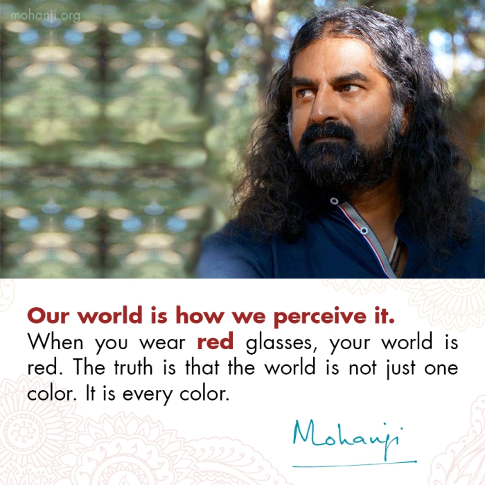 Mohanji quote - World is our reflection 2