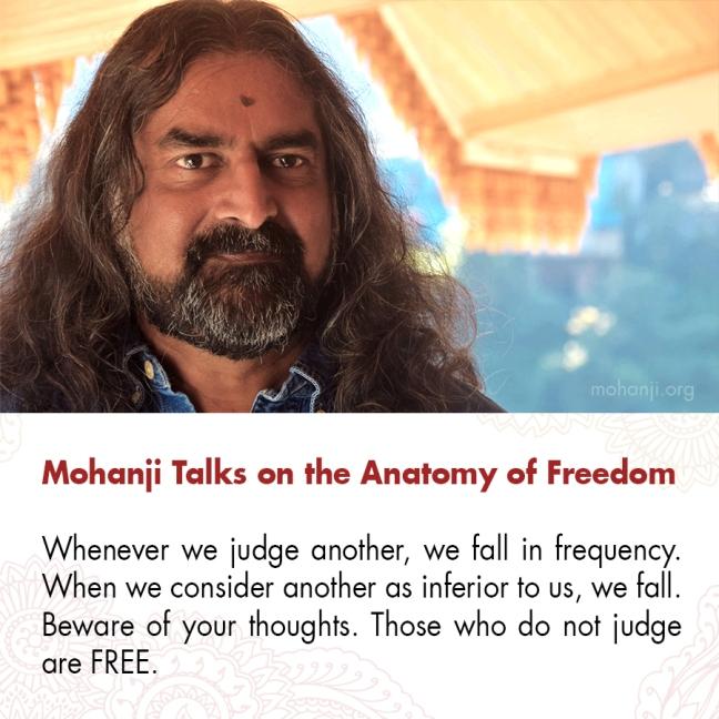 Mohanji quote - Anatomy of Freedom