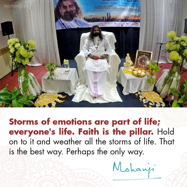 Mohanji quote - Faith