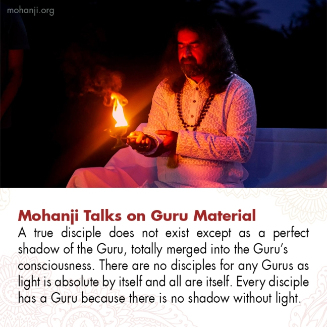 Mohanji quote - Guru material 4