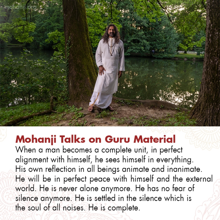 Mohanji quote - Guru material