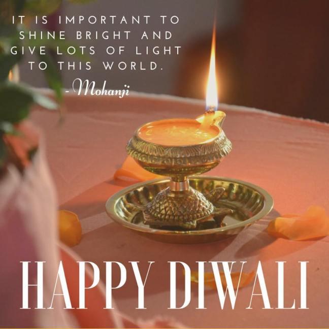 Happy Diwali - by Mohanji