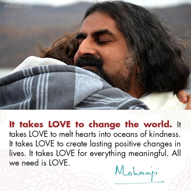 Mohanji quote - Love