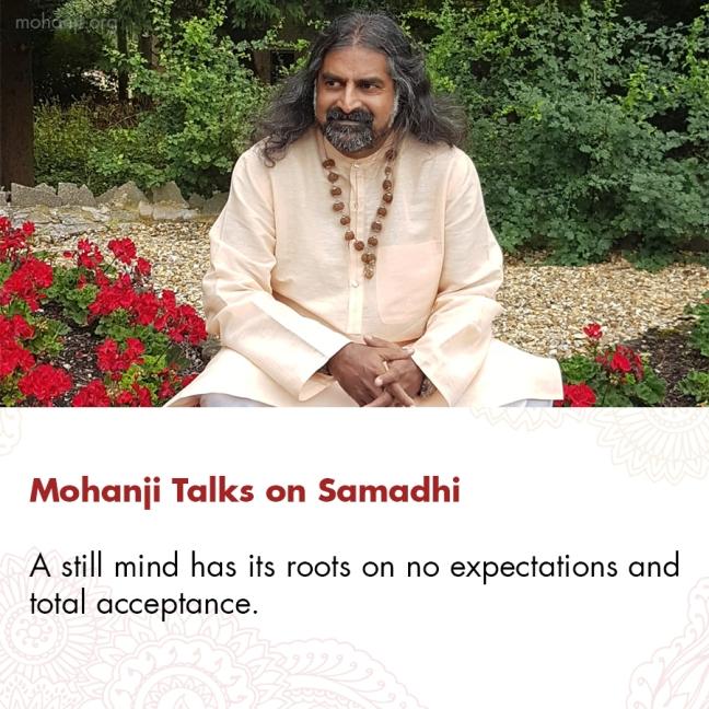 Mohanji quote - Samadhi