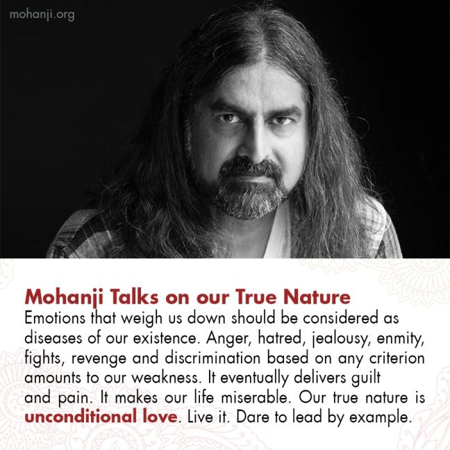 Mohanji quote - True nature