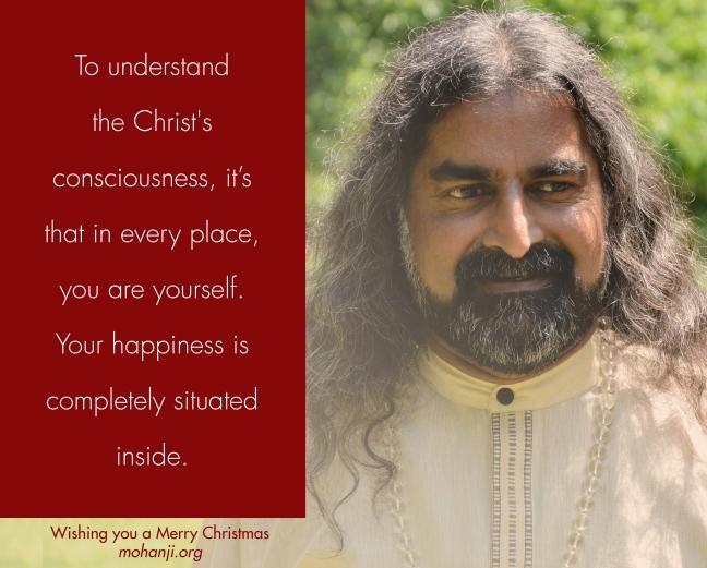 Mohanji 1 Merry Christmas