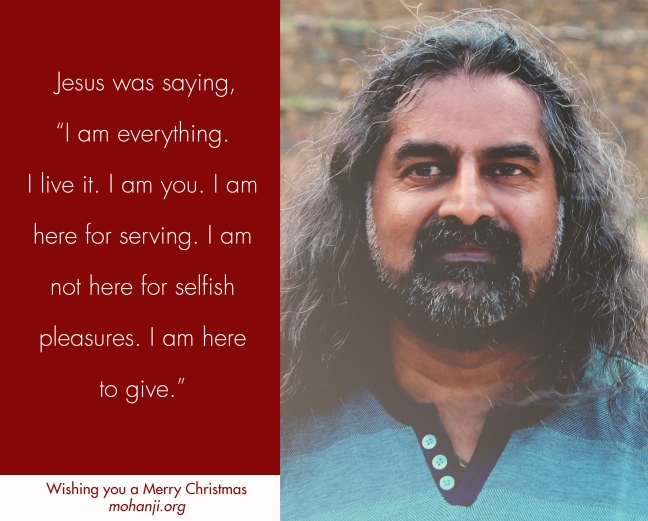 Mohanji 2 Merry Christmas