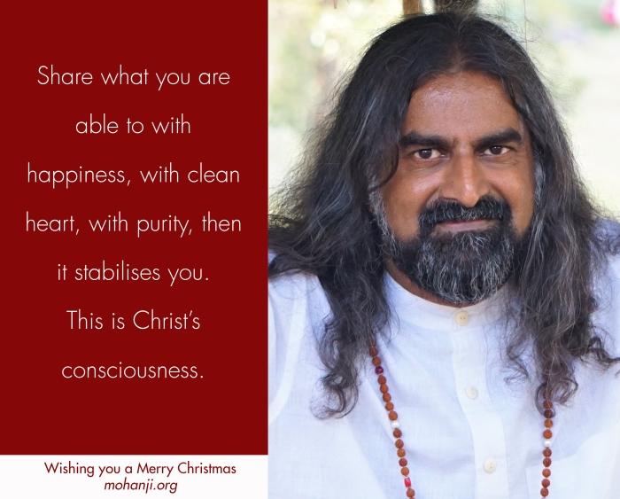 Mohanji 3 Merry Christmas