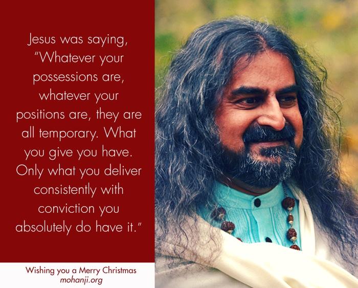 Mohanji 5 Merry Christmas