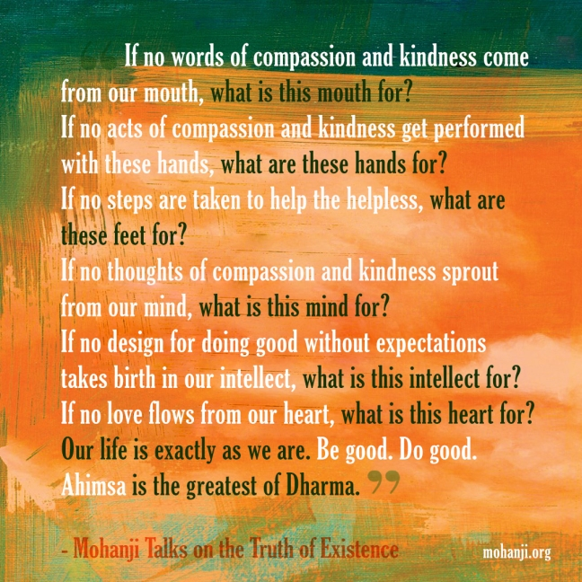 Mohanji quote - Truth of Existence