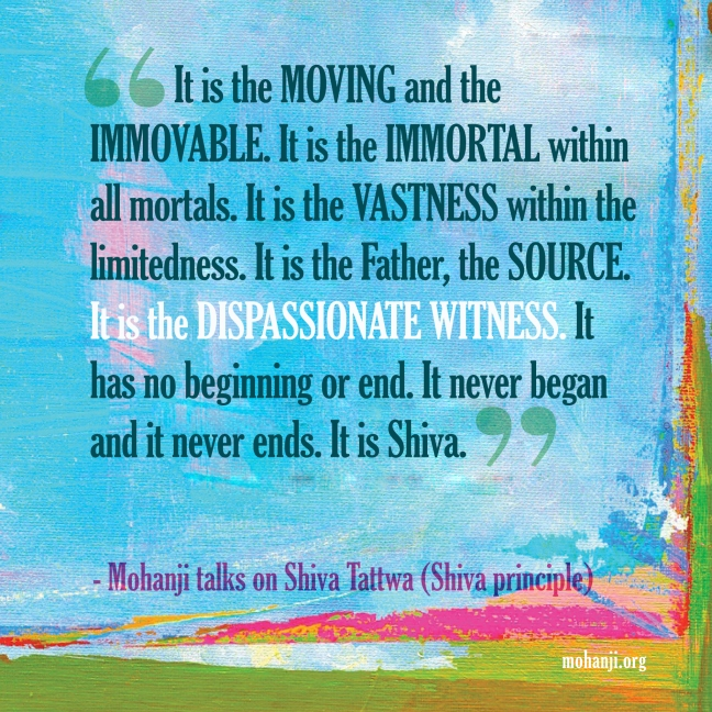 Mohanji quote - Shiva Tattwa6 - Shiva principle