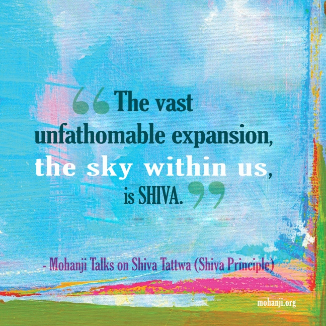 Mohanji quote - Shiva Tattwa8 - Shiva principle