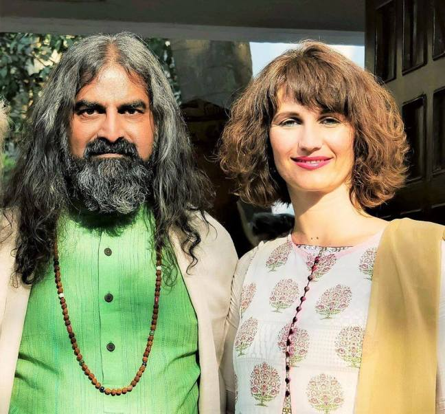 Mohanji and Devi - interview for Slovenian magazine Misterija