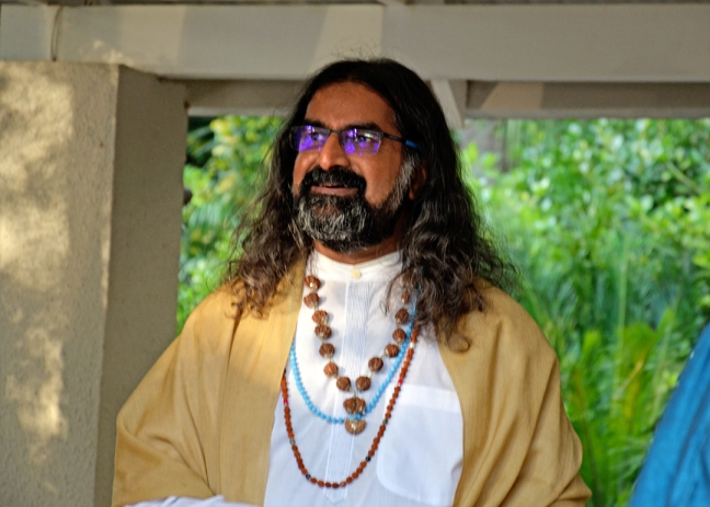 Mohanji in South Africa - Zoom satsang - willpower