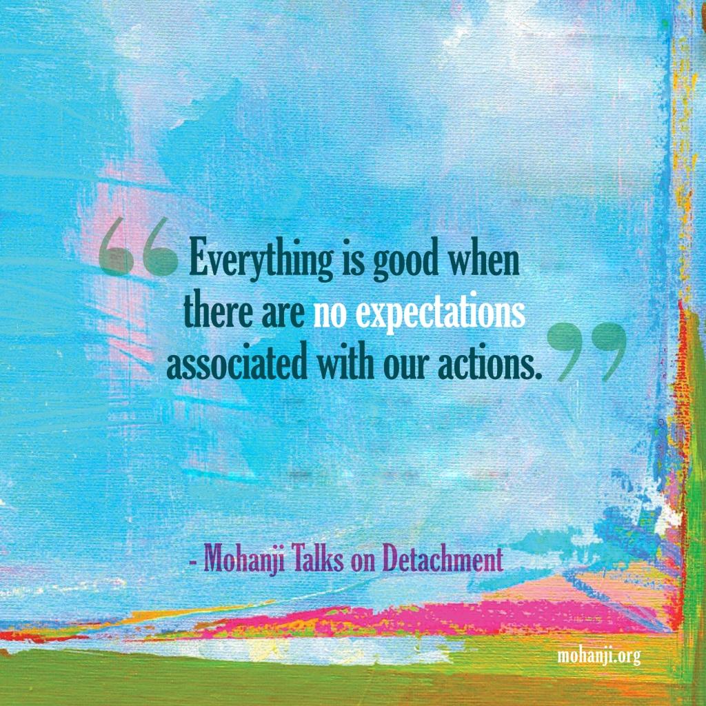 Mohanji quote - Detachment 1